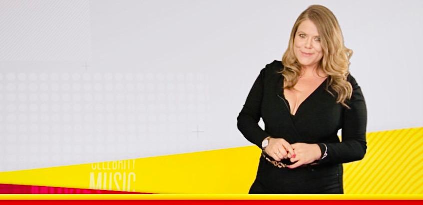 Presenting Showbiz News on ITV2