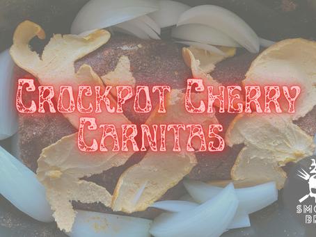 Crockpot Cherry Carnitas