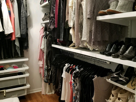 Organize your Closet once and for all