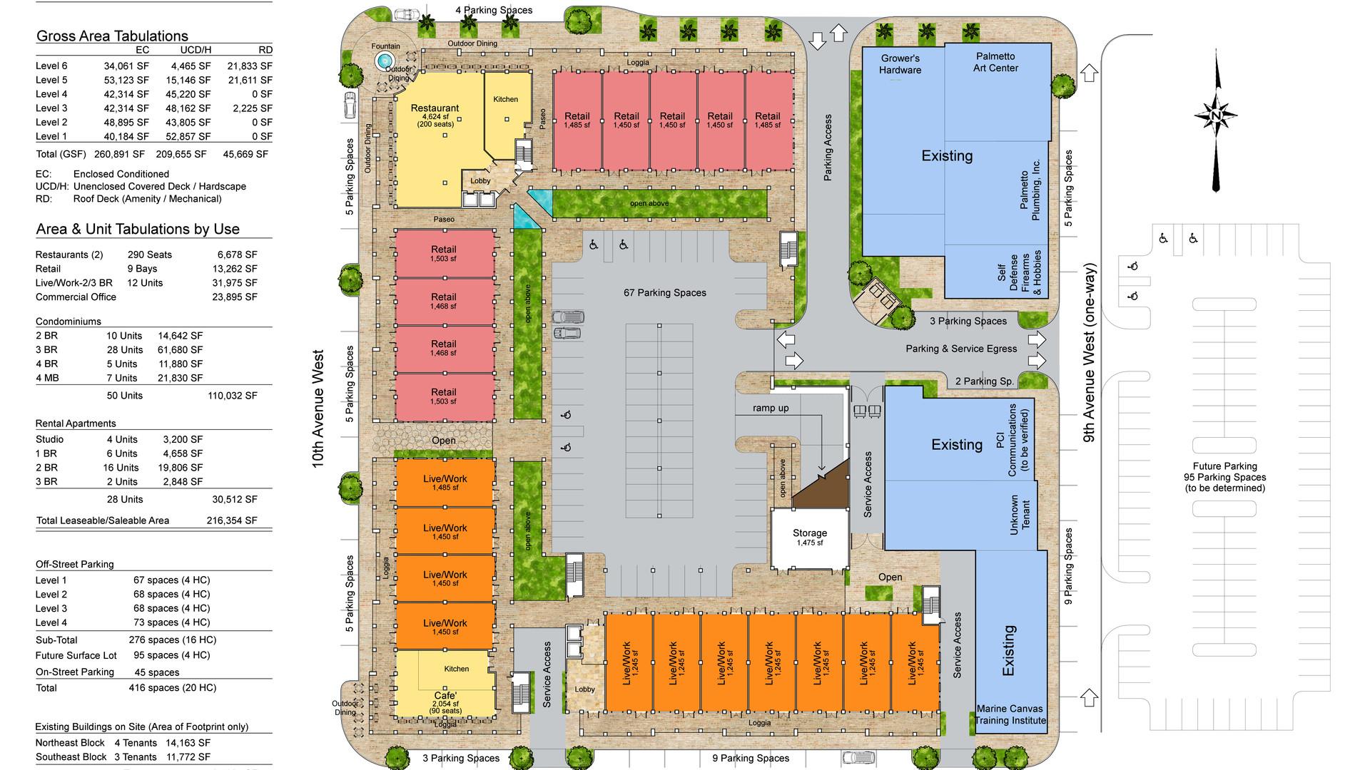 Palmetto Redevelopment-Ground Floor Plan