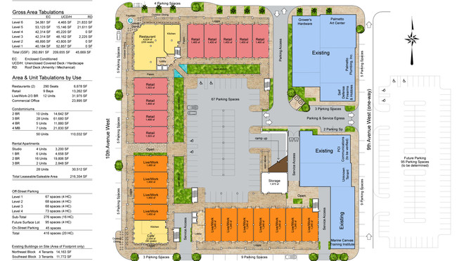 Palmetto Redevelopment-Ground Floor Plan
