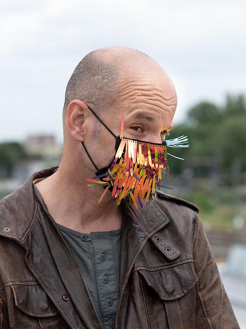 Masken-Cover: DARK KNIGHT