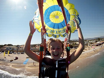parachute enfants duo