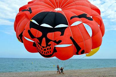 parachute ascentionnel