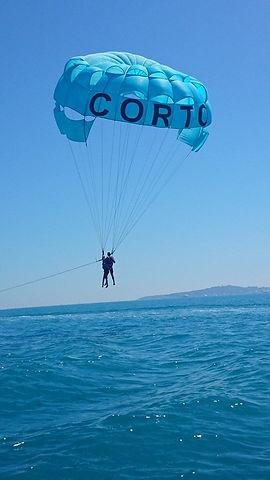touché d'eau parachute