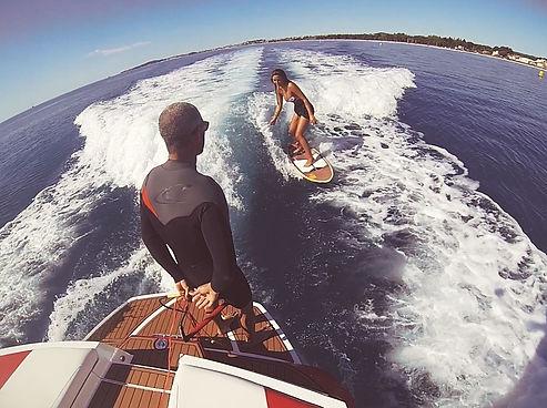 wake surf foil