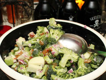 Chopped Zombie Salad