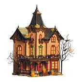 Halloween Victorian House