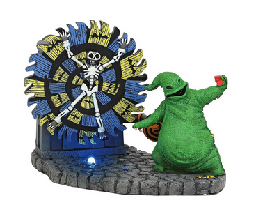 Oogie Boogie Gives a Spin