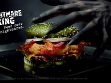 A Burger Guaranteed to Give You Nightmares
