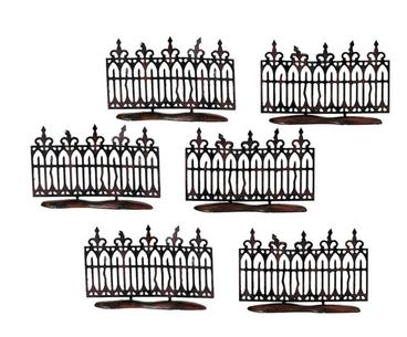 Spooky Wrough Iron Fence