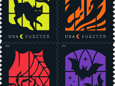 Halloween Postage Stamps Coming This Year