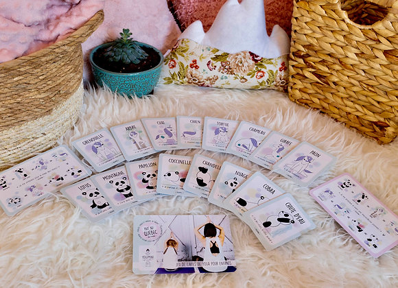 Carte Yoga mini
