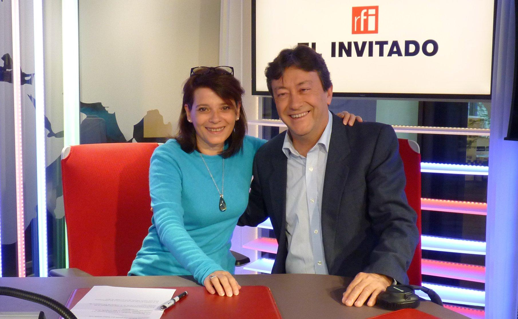 El invitado, Radio France Internatio