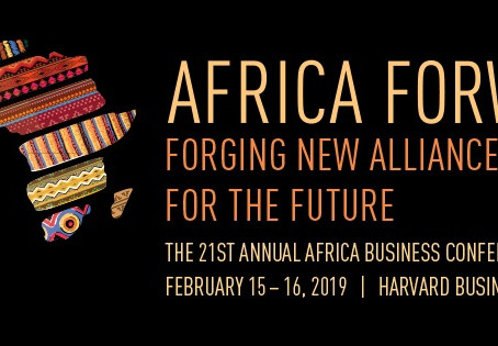Go Global attending  the 21st Africa Business Conference at Harvard Business School