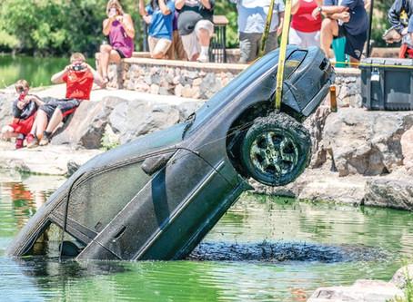 The strange case of the car in the lake
