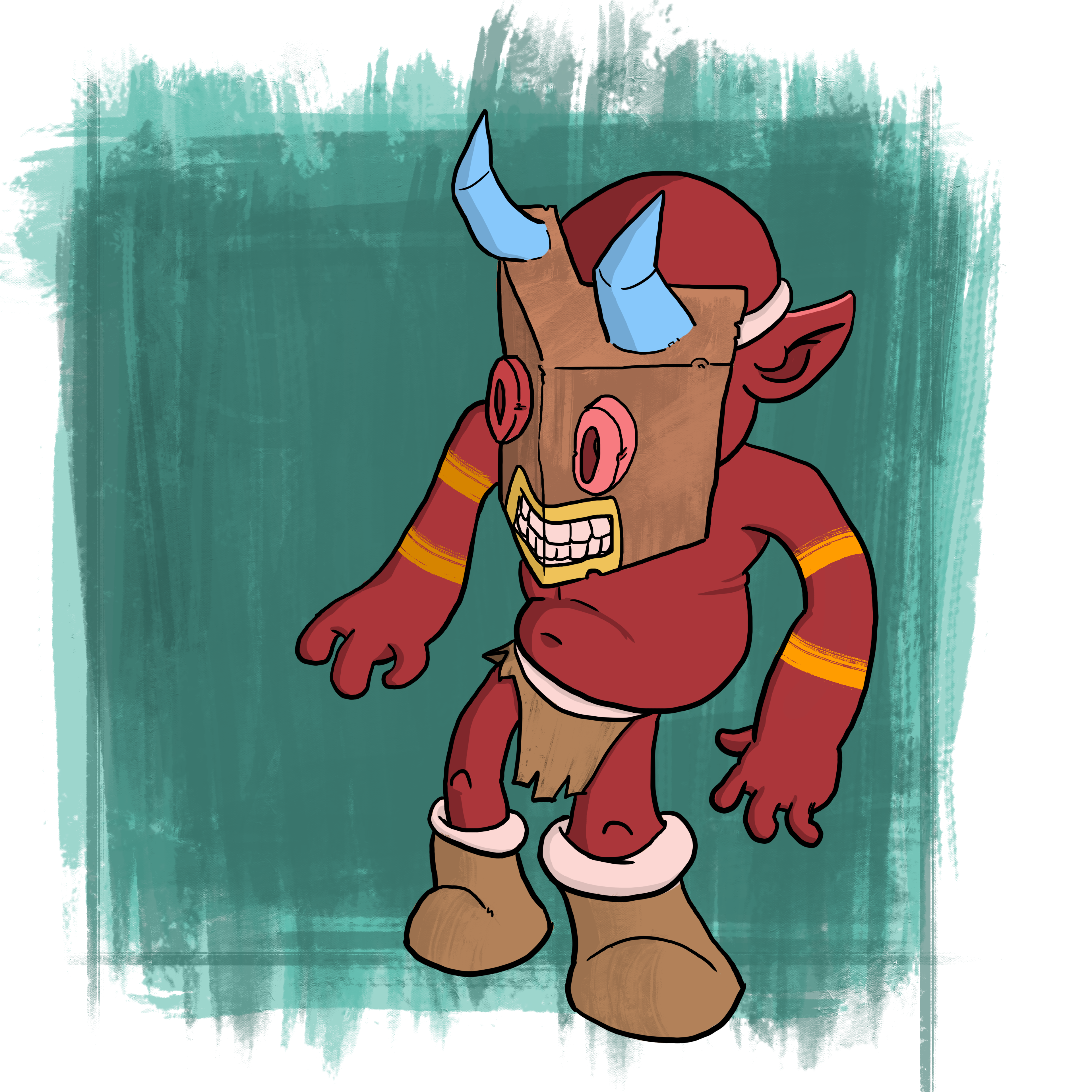 Devil Tiki