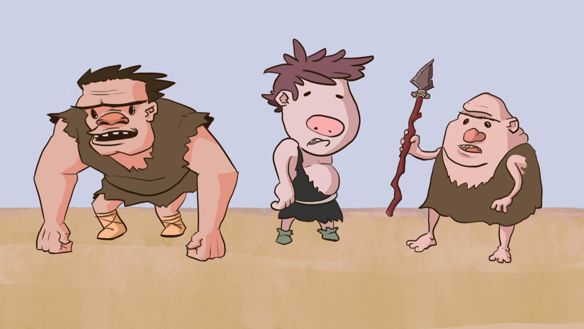 Cavemen Lineup