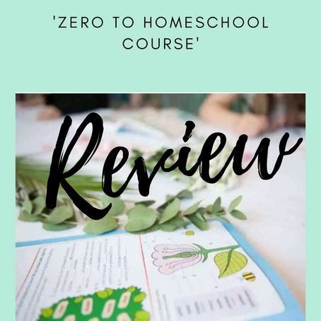 REVIEW - ZERO TO HOMESCHOOL COURSE BY FEARLESS HOMESCHOOL