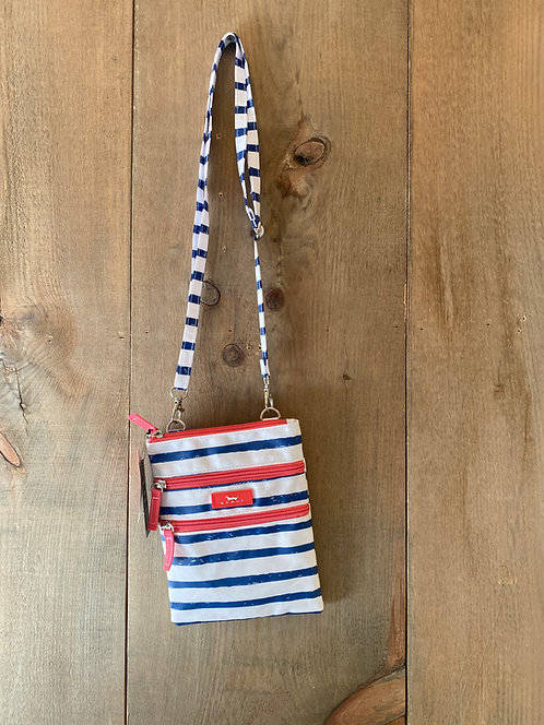 Cross Body Nautical Stripe Scout Bag