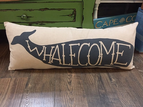 Whalecome Pillow