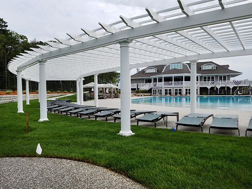 New Seabury Poolside