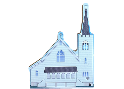 'St Patrick's Church' By Cat's Meow Village
