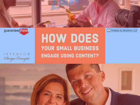 How Does Your Small Business Engage Using Content?