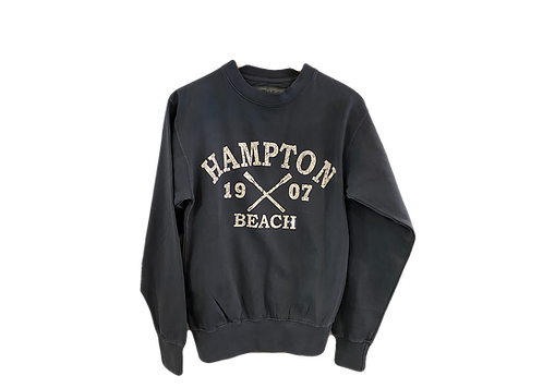 Navy Crew Neck Adult Sweatshirt