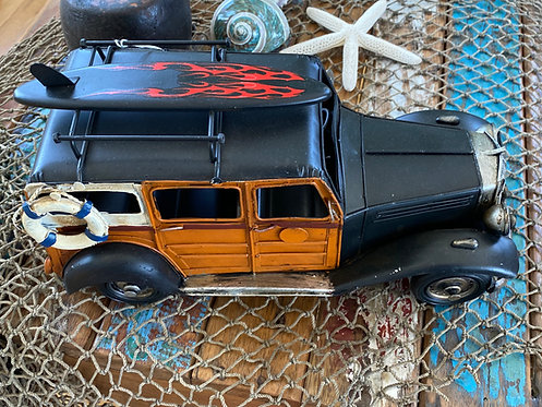 Vintage Woody Surf Wagon