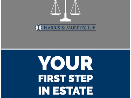 Your First Step in Estate Planning