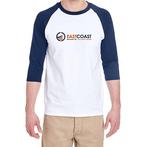 "ECSI - ""Auburn"" Style Three-Quarter T-Shirt"