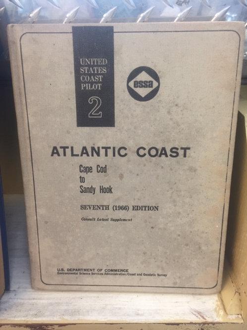 US Coast Guard - Pilot Atlantic Coast - Vintage Book 1966