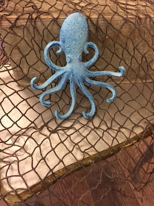 Cast Iron Octopus Hook