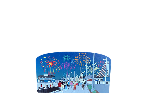 Hampton Beach Fireworks By Cat's Meow