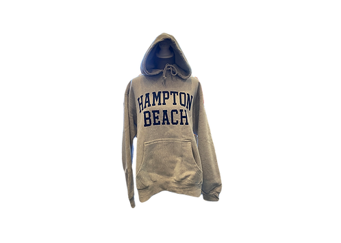 Oatmeal Colored Hampton Beach Heavyweight Hoodi