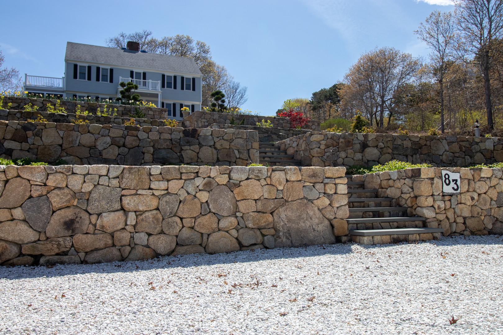 Cape Cod Retaining Walls
