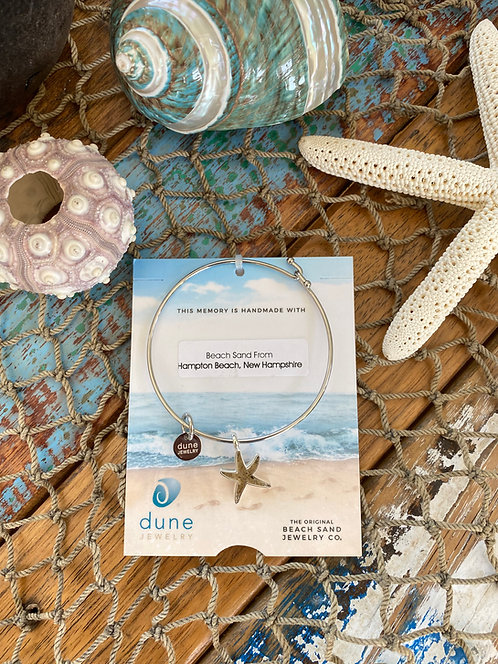Starfish Bangle by Dune Jewelry