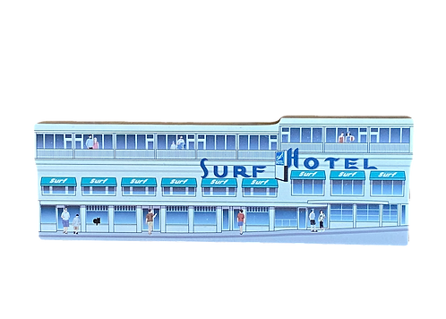 'Old Surf Hotel' By Cat's Meow Village