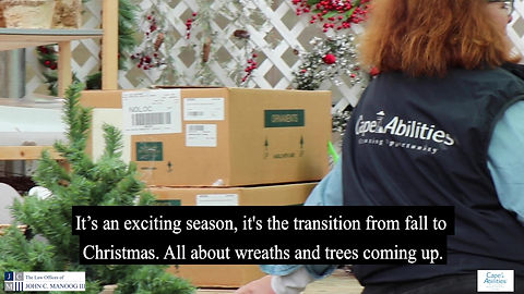 It's all about wreaths & trees as Cape Abilities Farm finishes their preparations for #Christmas! The first shipment of trees has arrived, and you can now turn your home into a winter wonderland on Route 6A in Dennis. We encourage you to mention Manoog with your purchase or make your own donation. We will be matching your holiday purchases & donations up to $10,000 when you do.