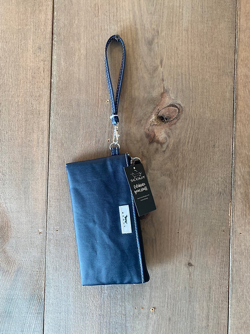 Kate Wristlet Denim