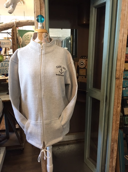 Full Zip Nantucket Fleece with Pockets and Left Chest Embroidery
