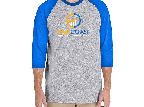 "ECSI - ""UCLA"" Style Three-Quarter T-Shirt"