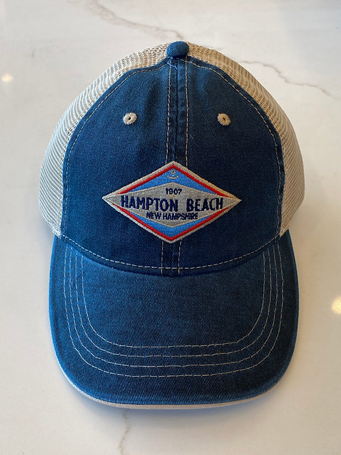 Hampton Beach Sign Hat