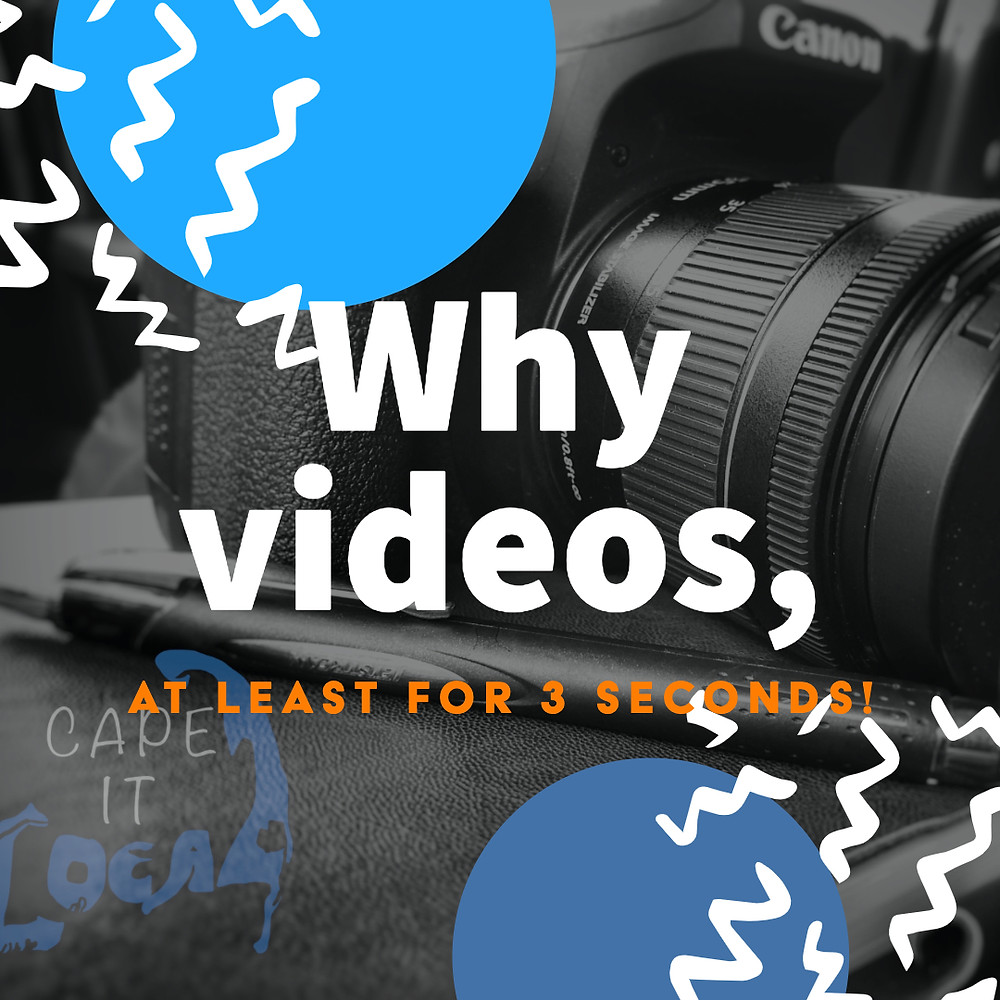 Add Videos to your social media posts to create powerful audiences.
