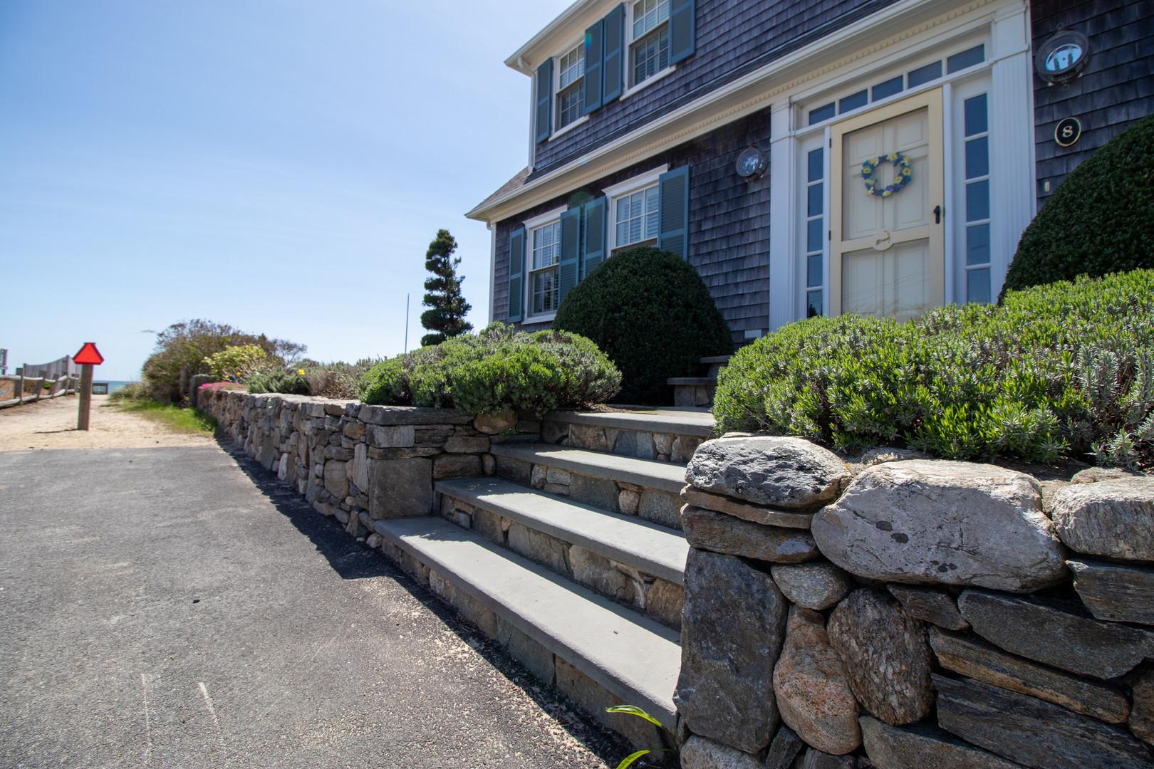 Cape Cod Masonry Steps