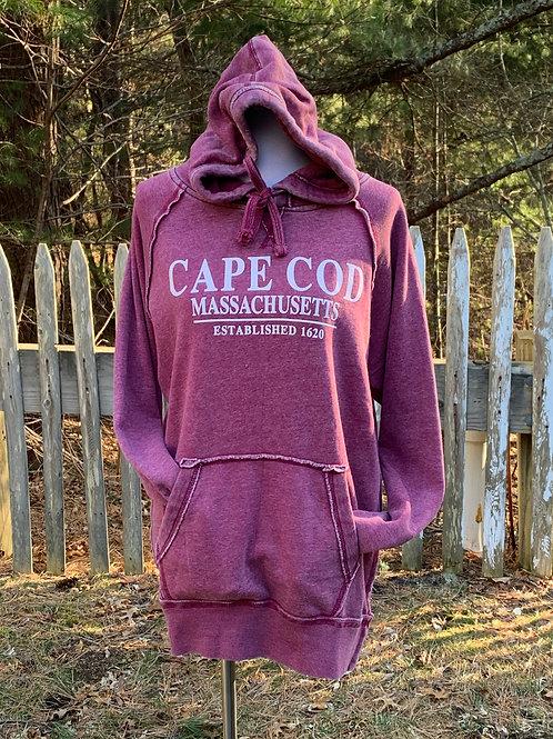 Cape Cod MA Vintage Hoodie
