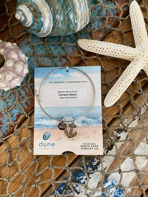 Anchor Bangle by Dune Jewelry