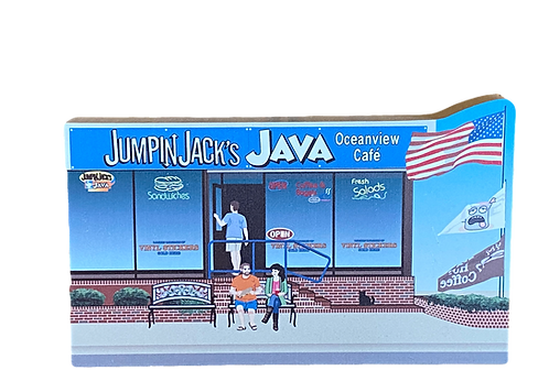 'Jumpin Jacks Java' By Cat's Meow Village