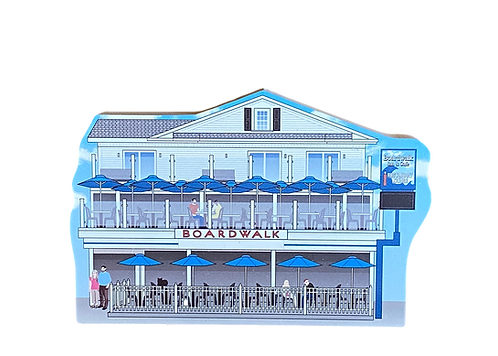 'Boardwalk Cafe' By Cat's Meow Village